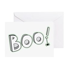 Boo! Greeting Cards