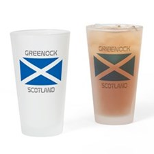 Greenock Scotland Drinking Glass