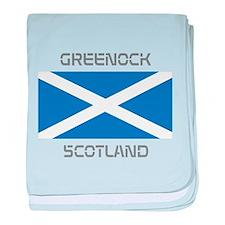 Greenock Scotland baby blanket
