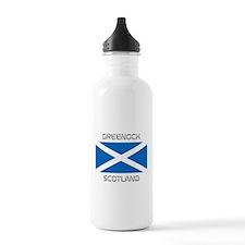 Greenock Scotland Water Bottle