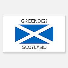 Greenock Scotland Decal