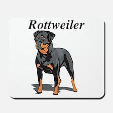 Rottweiler Title Mousepad
