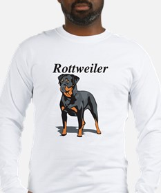 Rottweiler Title Long Sleeve T-Shirt