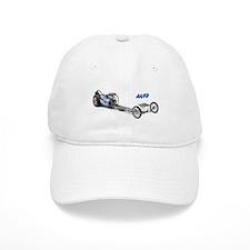 Blue Fuel Dragster Baseball Baseball Cap