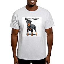 Rottweiler Title Ash Grey T-Shirt