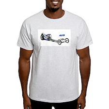 Blue Fuel Dragster T-Shirt