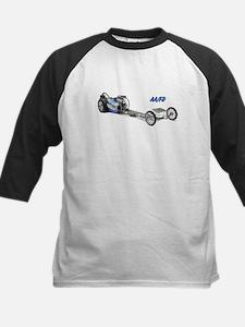 Blue Fuel Dragster Baseball Jersey