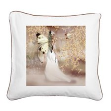 Fantasy Fairy Imbolc Spirit Square Canvas Pillow