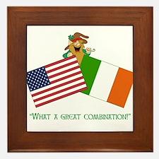 IRISH AMERICAN Framed Tile