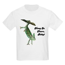 Hang In There Chameleon Kids T-Shirt