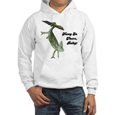 Hang In There Chameleon Hoodie