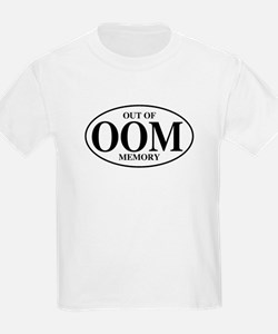 Out Of Memory Kids T-Shirt