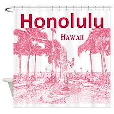 Honolulu Shower Curtain