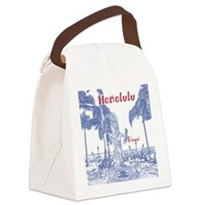 Honolulu Canvas Lunch Bag