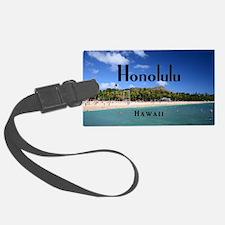 Honolulu Luggage Tag