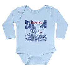 Honolulu Long Sleeve Infant Bodysuit