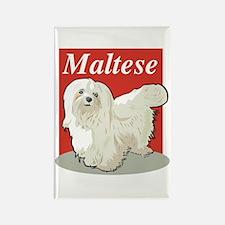 Maltese Title Rectangle Magnet