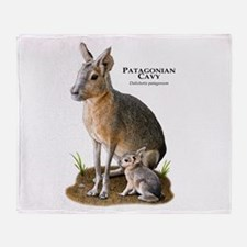 Patagonian Cavy Throw Blanket