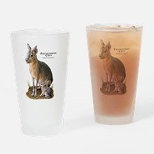 Patagonian Cavy Drinking Glass