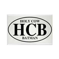 Holy Cow Batman Rectangle Magnet (10 pack)