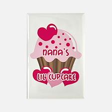 Nana's Lil' Cupcake Rectangle Magnet