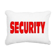 SECURITY Rectangular Canvas Pillow