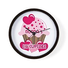 Nonna's Lil' Cupcake Wall Clock