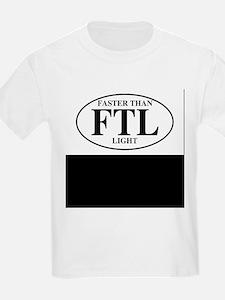 Faster Than Light Kids T-Shirt