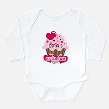 Oma's Lil' Cupcake Long Sleeve Infant Bodysuit