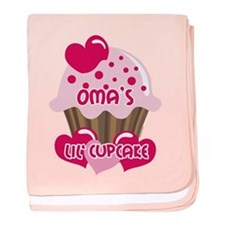 Oma's Lil' Cupcake baby blanket