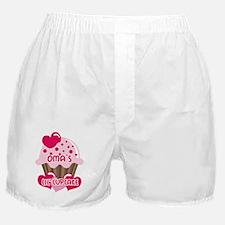 Oma's Lil' Cupcake Boxer Shorts
