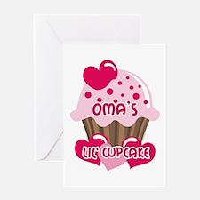 Oma's Lil' Cupcake Greeting Card