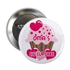 "Oma's Lil' Cupcake 2.25"" Button"