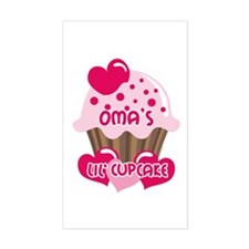 Oma's Lil' Cupcake Decal
