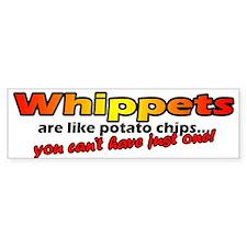 Whippet Potato Chip Bumper Bumper Sticker