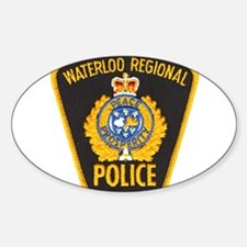 Waterloo Police Oval Decal