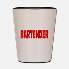 Bartender Shot Glass