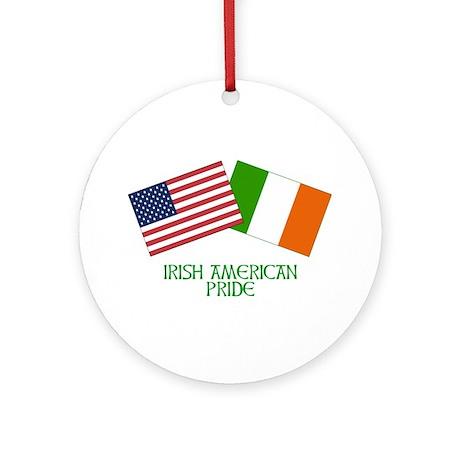 IRISH AMERICAN PRIDE 2 Ornament (Round)