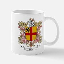 Burke Family Crest Mugs