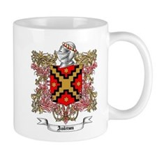 Anderson Family Crest 5 Mugs