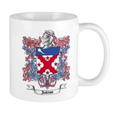 Anderson Family Crest 2 Mugs