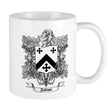Anderson Family Crest 1 Mugs