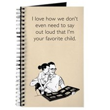 Dad's Favorite Child Journal