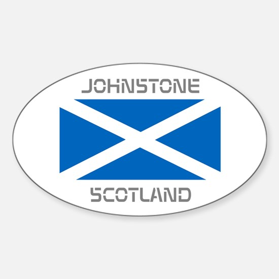 Johnstone Scotland Sticker (Oval)