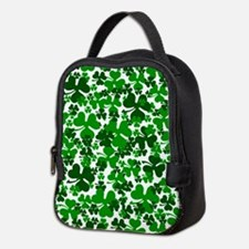 Shamrocks Neoprene Lunch Bag
