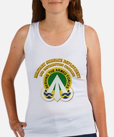 DUI - Military Surface with text Women's Tank Top