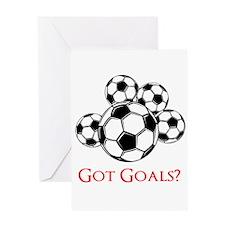 Got Goals Greeting Cards