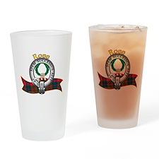 Ross Clan Drinking Glass