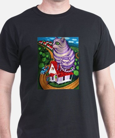 Cat on a Red Tin Roof T-Shirt