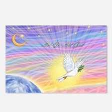 Let Go-Dove-World Postcards (Package of 8)